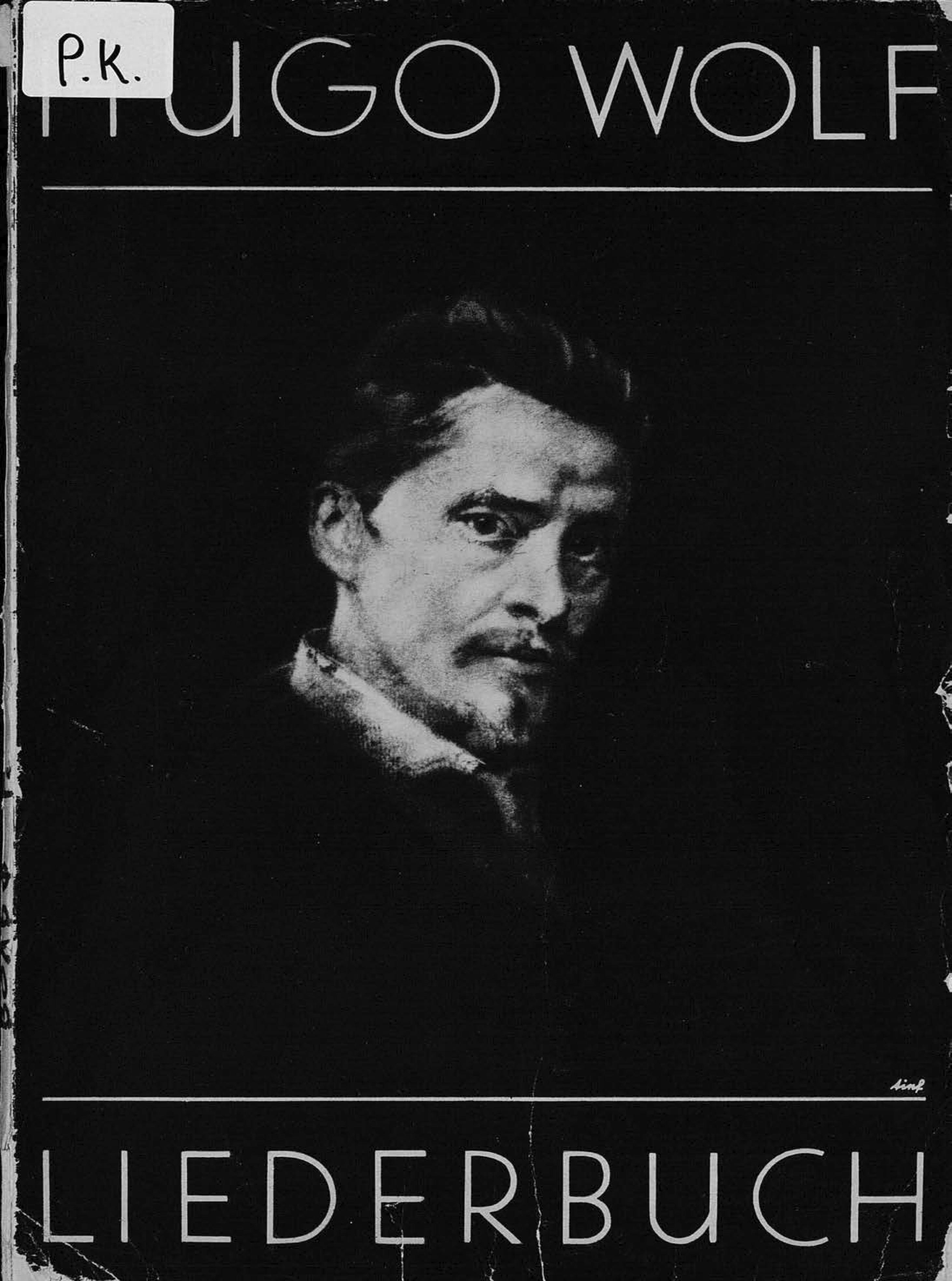 Hugo Wolf - Liederbuch fur tiefe Stimme