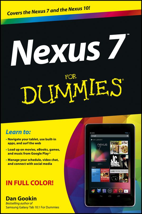 Nexus 7 For Dummies (Google Tablet)