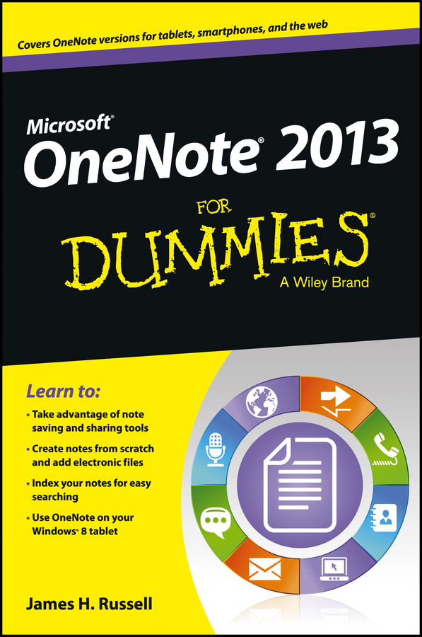 OneNote 2013 For Dummies