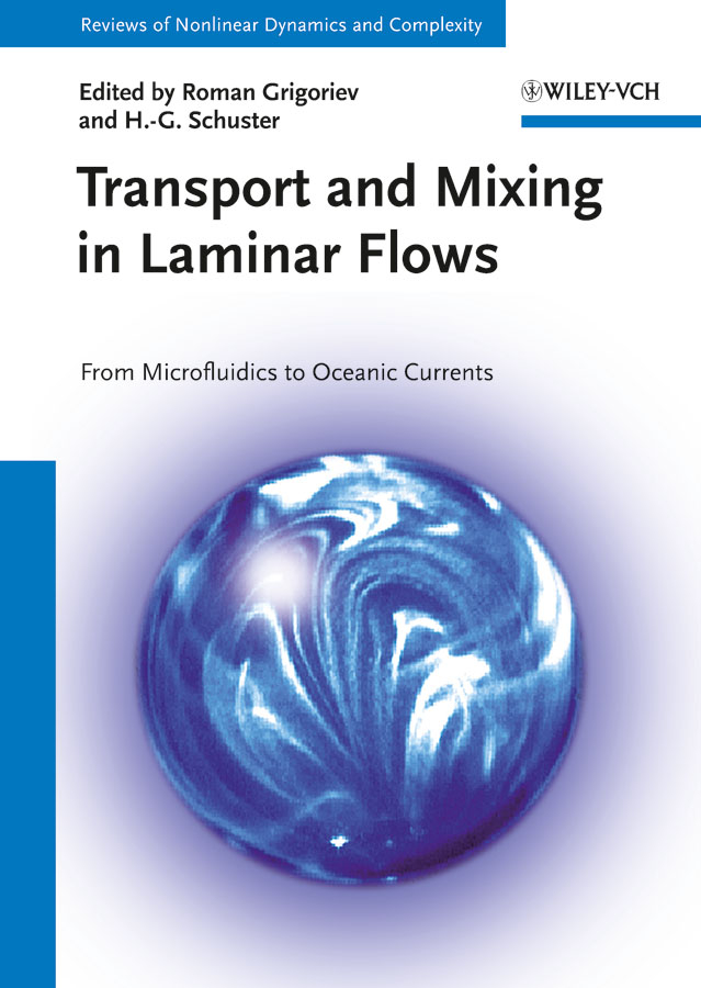 Transport and Mixing in Laminar Flows. From Microfluidics to Oceanic Currents