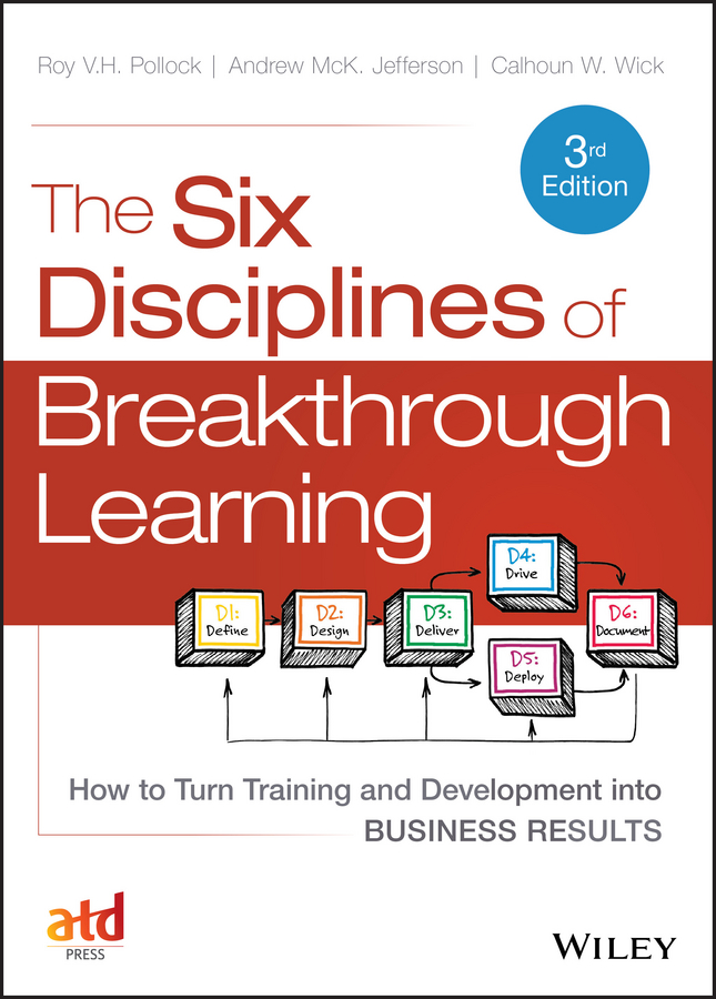 The Six Disciplines of Breakthrough Learning. How to Turn Training and Development into Business Results