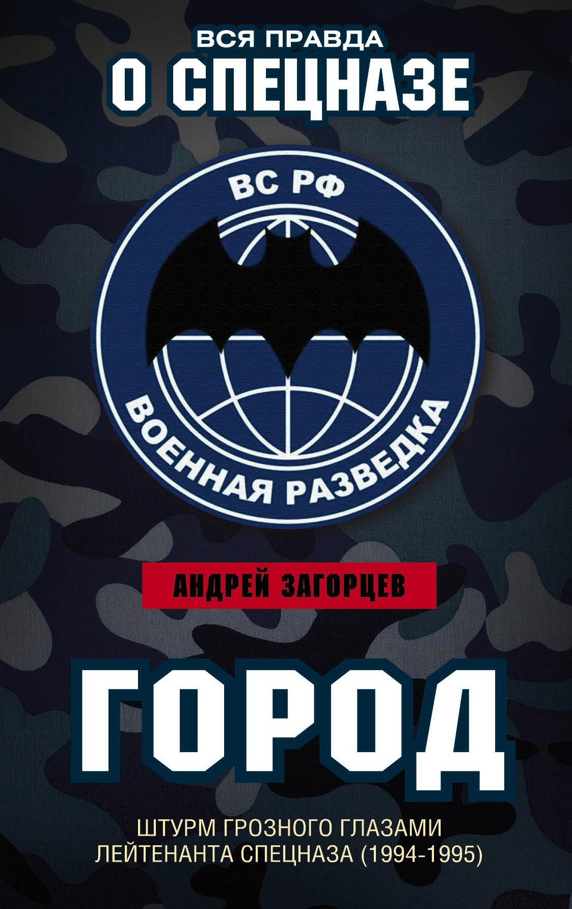 Город. Штурм Грозного глазами лейтенанта спецназа (1994–1995)