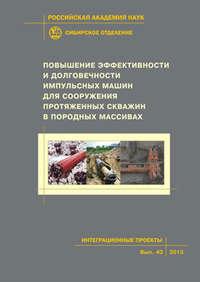 Обложка «Повышение эффективности и долговечности импульсных машин для сооружения протяженных скважин в породных массивах»