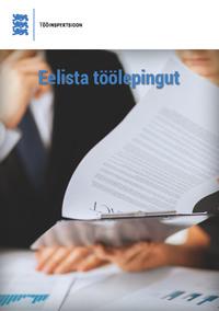 Обложка «Eelista töölepingut»