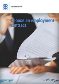 Обложка «Choose an employment contract»