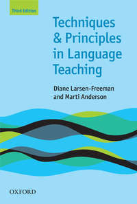 Обложка «Techniques and Principles in Language Teaching 3rd edition»