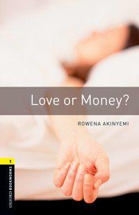 Обложка «Love or Money»