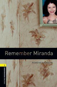 Обложка «Remember Miranda»