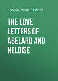 Обложка «The love letters of Abelard and Heloise»