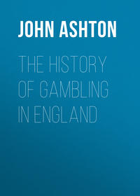 Обложка «The History of Gambling in England»