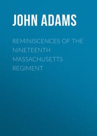 Обложка «Reminiscences of the Nineteenth Massachusetts regiment»
