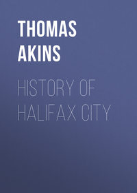 Обложка «History of Halifax City»