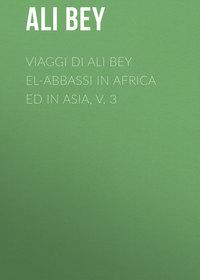 Обложка «Viaggi di Ali Bey el-Abbassi in Africa ed in Asia, v. 3»