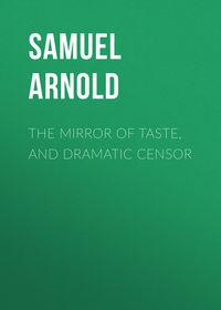 Обложка «The Mirror of Taste, and Dramatic Censor»