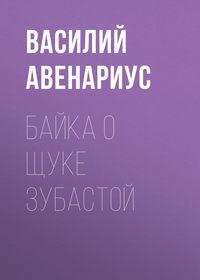 Обложка «Байка о щуке зубастой»