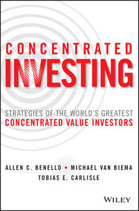 Обложка «Concentrated Investing»