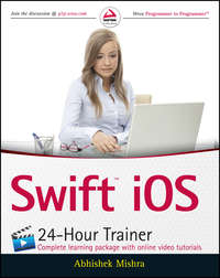 Обложка «Swift iOS 24-Hour Trainer»
