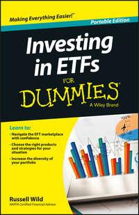 Обложка «Investing in ETFs For Dummies»