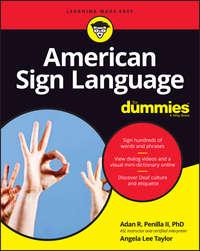 Обложка «American Sign Language For Dummies»
