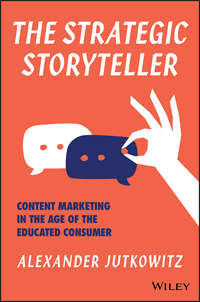 Обложка «The Strategic Storyteller»