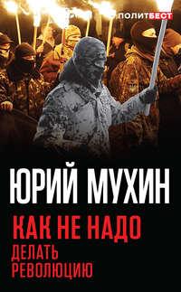 Обложка «Как не надо делать революцию»