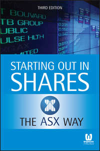Обложка «Starting Out in Shares the ASX Way»