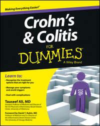 Обложка «Crohn's and Colitis For Dummies»