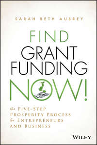 Обложка «Find Grant Funding Now!. The Five-Step Prosperity Process for Entrepreneurs and Business»