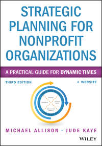 Обложка «Strategic Planning for Nonprofit Organizations. A Practical Guide for Dynamic Times»