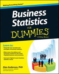 Обложка «Business Statistics For Dummies»