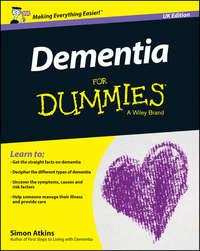 Обложка «Dementia For Dummies - UK»