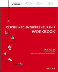 Обложка «Disciplined Entrepreneurship Workbook»