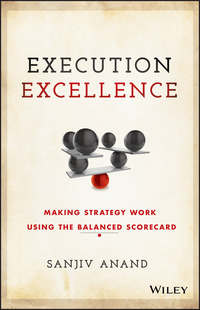 Обложка «Execution Excellence. Making Strategy Work Using the Balanced Scorecard»