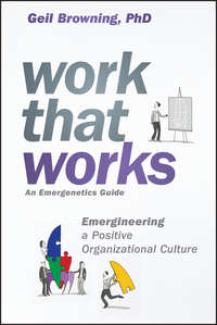 Обложка «Work That Works. Emergineering a Positive Organizational Culture»