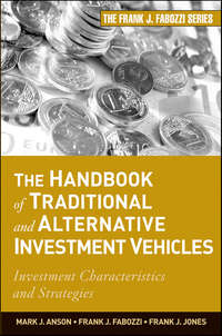 Обложка «The Handbook of Traditional and Alternative Investment Vehicles. Investment Characteristics and Strategies»