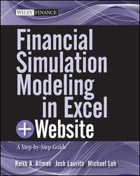 Обложка «Financial Simulation Modeling in Excel. A Step-by-Step Guide»