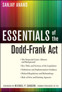 Обложка «Essentials of the Dodd-Frank Act»