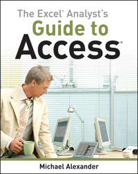 Обложка «The Excel Analyst's Guide to Access»