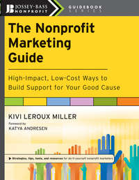 Обложка «The Nonprofit Marketing Guide. High-Impact, Low-Cost Ways to Build Support for Your Good Cause»