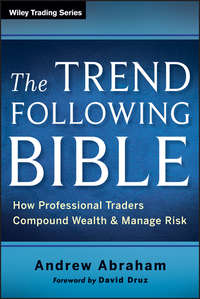 Обложка «The Trend Following Bible. How Professional Traders Compound Wealth and Manage Risk»