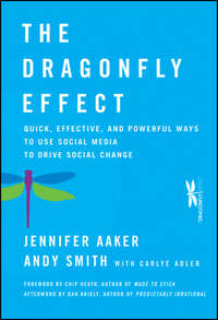 Обложка «The Dragonfly Effect. Quick, Effective, and Powerful Ways To Use Social Media to Drive Social Change»