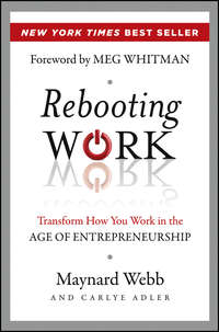 Обложка «Rebooting Work. Transform How You Work in the Age of Entrepreneurship»