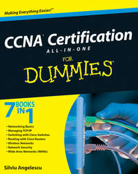 Обложка «CCNA Certification All-In-One For Dummies»