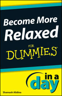 Обложка «Become More Relaxed In A Day For Dummies»