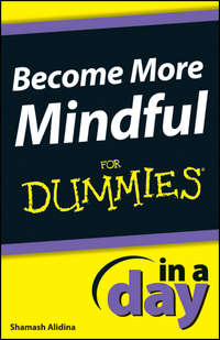 Обложка «Become More Mindful In A Day For Dummies»