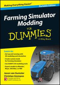 Обложка «Farming Simulator Modding For Dummies»