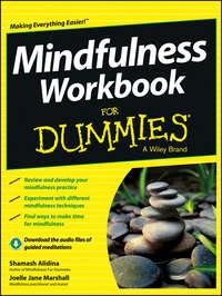 Обложка «Mindfulness Workbook For Dummies»