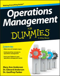 Обложка «Operations Management For Dummies»
