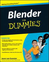 Обложка «Blender For Dummies»