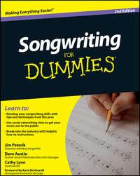 Обложка «Songwriting For Dummies»